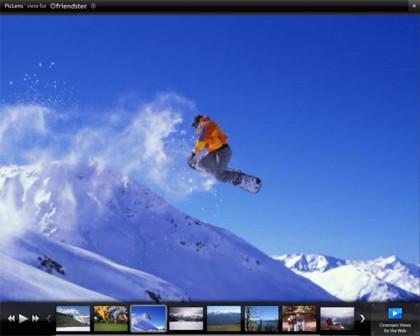 Piclens, presentaciones de imágenes a pantalla completa desde Firefox