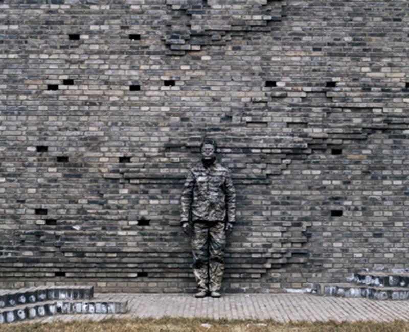 Foto de Hiding in the City: el hombre invisible. Liu Bolin (24/50)