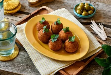 """Lo que podemos """"esconder"""" dentro de unas bolas de patata"""
