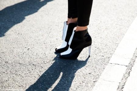 Si no tienes un zapato black & white... No vas a la moda