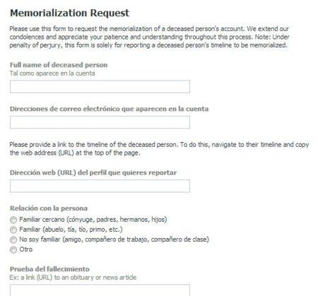 """¿Es fácil engañar a Facebook para activar el modo """"conmemorativo"""" en un usuario que no ha fallecido?"""