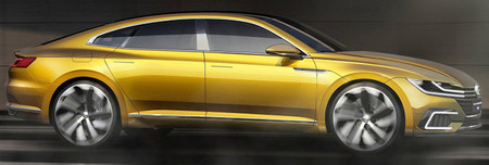 Volkswagen Sport Coupe Gte Concept 3