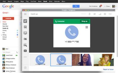 Ya puedes volver a hacer llamadas VoIP desde Gmail con Hangouts