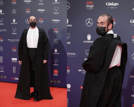 Alberto Velasco Alfombra Roja Red Carpet Premios Feroz 2021 Trendencias Hombre 01