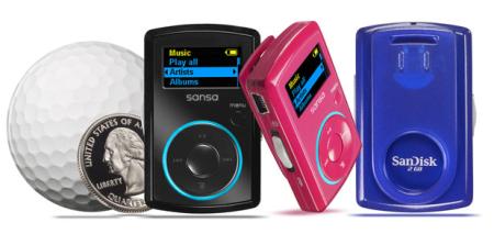 Sansa Clip, reproductor MP3 diminuto