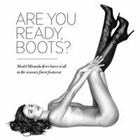Miranda Kerr, esa gatita con botas... miau, miau