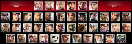 Tekken 6 - Lista de luchadores al completo