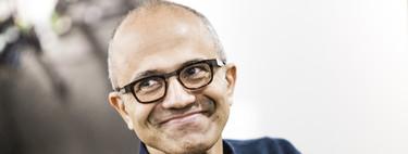 Desde la llegada de Satya Nadella, Microsoft ha crecido un 465%: cuando te despojas de atavismos para ser una cosa muy distinta a lo que te hizo grande