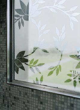 Esmerilados vinilos para cristales - Cristales decorativos para puertas de interior ...