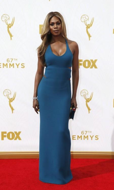 Laverne Cox Emmys 2015