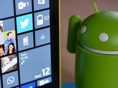 ¿Se está preparando Windows 10 Mobile para incluir un emulador de Android?