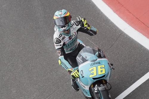 Joan Mir empieza a apuntalar una nueva victoria con el mejor tiempo del viernes en Jerez