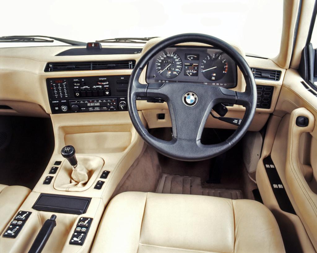 Bmw 745i interior