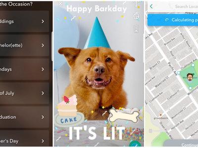 Snapchat ahora te permite crear tus propios filtros desde la app