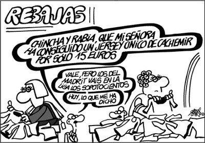 Rebajas Verano 2010 en España: ¿Se puede comprar en estas condiciones? Forges