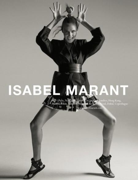 ¿Fan de Isabel Marant? Más que te vas a volver al ver su campaña Primavera-Verano 2015