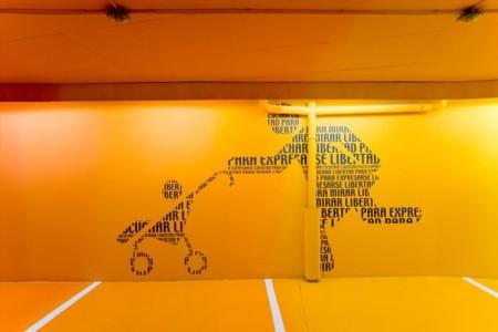 Fotos Parking Hotel Puerta De America By Teresa Sapey Art