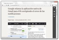 Clearly, lectura limpia de la mano de Evernote para Chrome