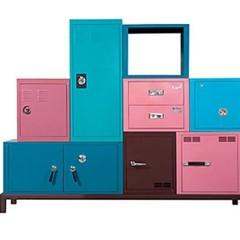 Foto 5 de 5 de la galería muebles-de-almacenaje-de-colores en Decoesfera