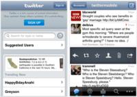 Twitter activa las notificaciones en su cliente de iOS
