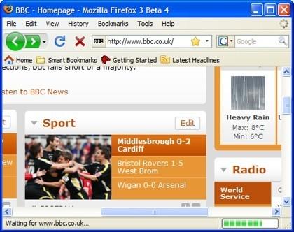 Firefox 3.0 beta 4