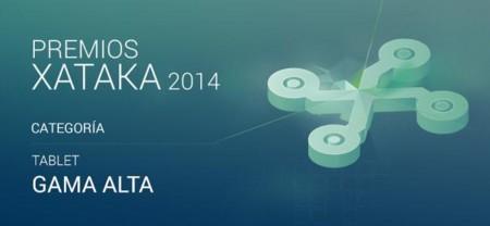 Mejor tablet de gama alta, vota por su preferido para los Premios Xataka 2014
