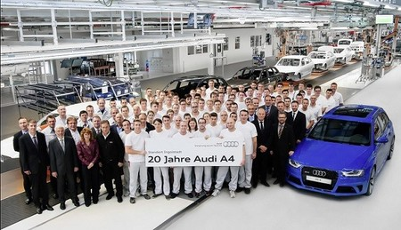 Audi A4: 20 años saliendo de Ingolstadt