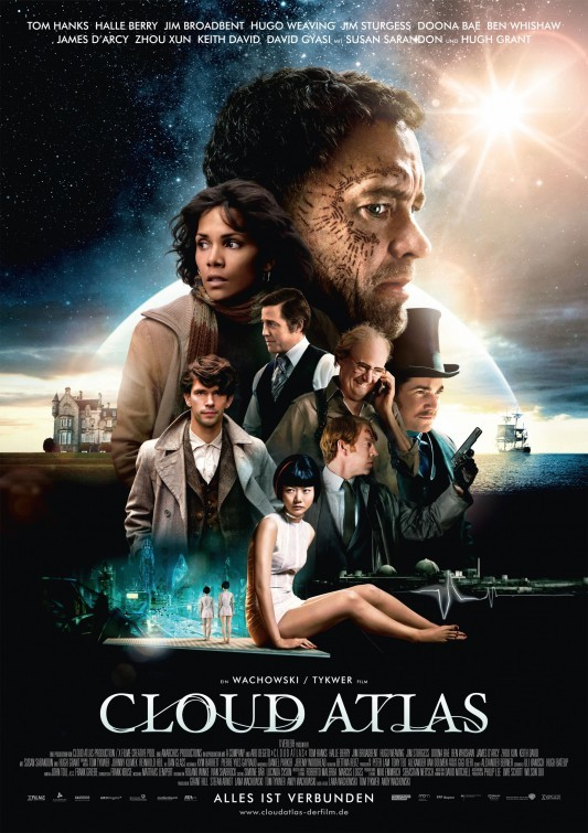 'El Atlas de las Nubes', carteles