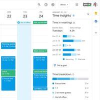 Google Calendar mostrará cuánto tiempo de trabajo estamos en reuniones, que se han disparado en la pandemia