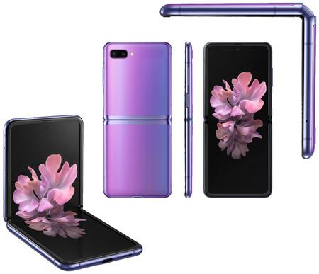 Samsung Z Flip Morado