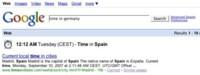 Google vuelve a activar su función de búsquedas de horarios