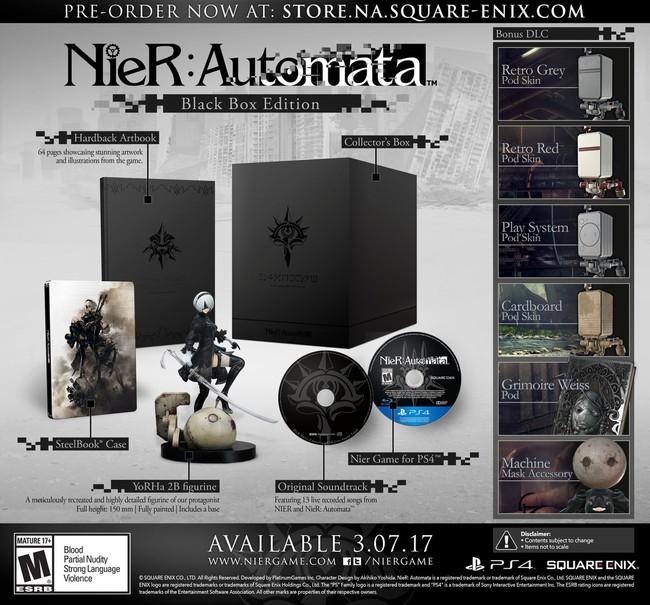 Nier Automata Black Box Edition