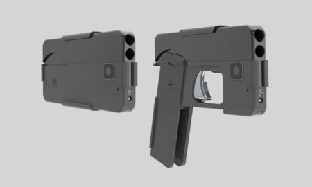 Que no te engañe este Smartphone, pues en realidad se trata de una pistola