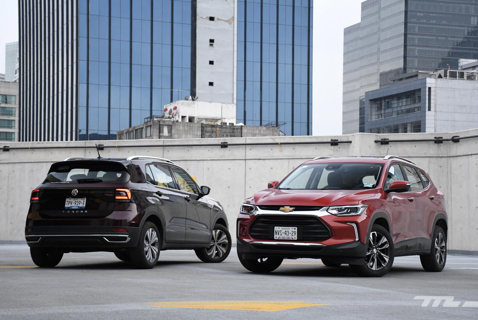 Foto de Chevrolet Tracker vs. Volkswagen T-Cross (comparativa) (8/29)