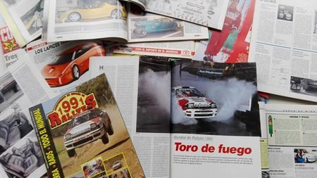 ¿De qué se hablaba en las revistas del motor de los 90?