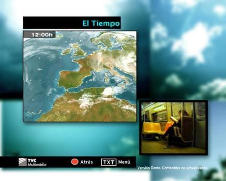 MHP, servicios interactivos de la TDT