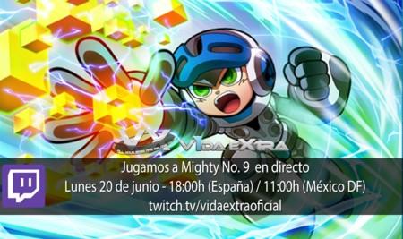Jugamos en directo a Mighty No. 9 a las 18:00h (las 11:00h en México DF)