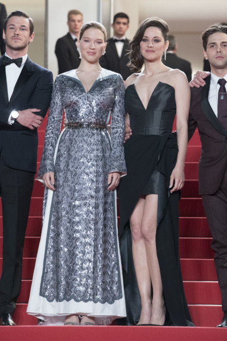 Marion Cotillard Lea Seydoux Its Only The End Of The World Festival De Cannes 2016 2