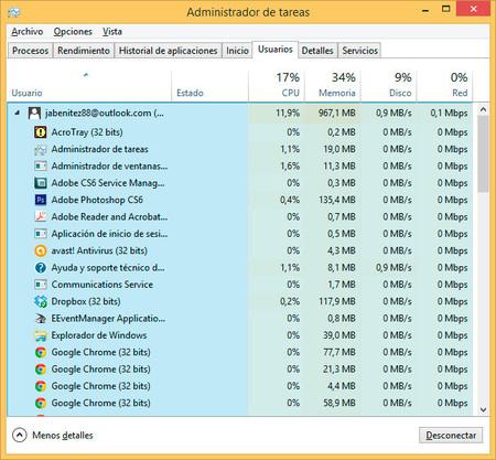 Cómo utilizar el administrador de tareas de Windows 7 Paso