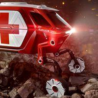 El Hyundai Elvante es el rescatista autónomo del futuro, capaz de llegar a cualquier zona de desastre