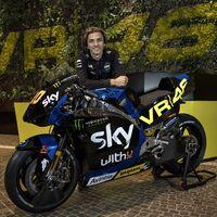 Desvelada la primera MotoGP de 2021: La Ducati de Luca Marini ya luce los colores de la academia de Valentino Rossi