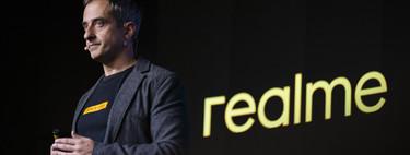"""""""Para finales de año nuestro objetivo es alcanzar el top 3 del mercado global en España"""": Emilio Álvarez, Country Manager de Realme España"""