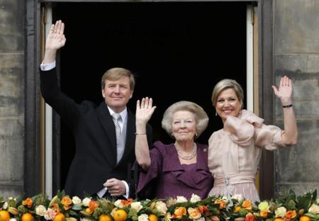 Looks Holanda nuevo rey abdicación