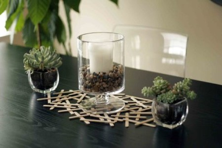 Recicladecoración: decorando con palitos de helado