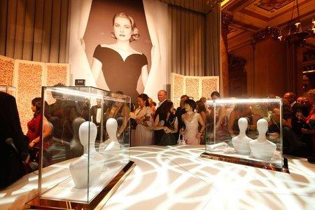 Montblanc presentó la 'Colección Princesa Grace de Mónaco'. Cena de gala en el Hotel Paris, Montecarlo
