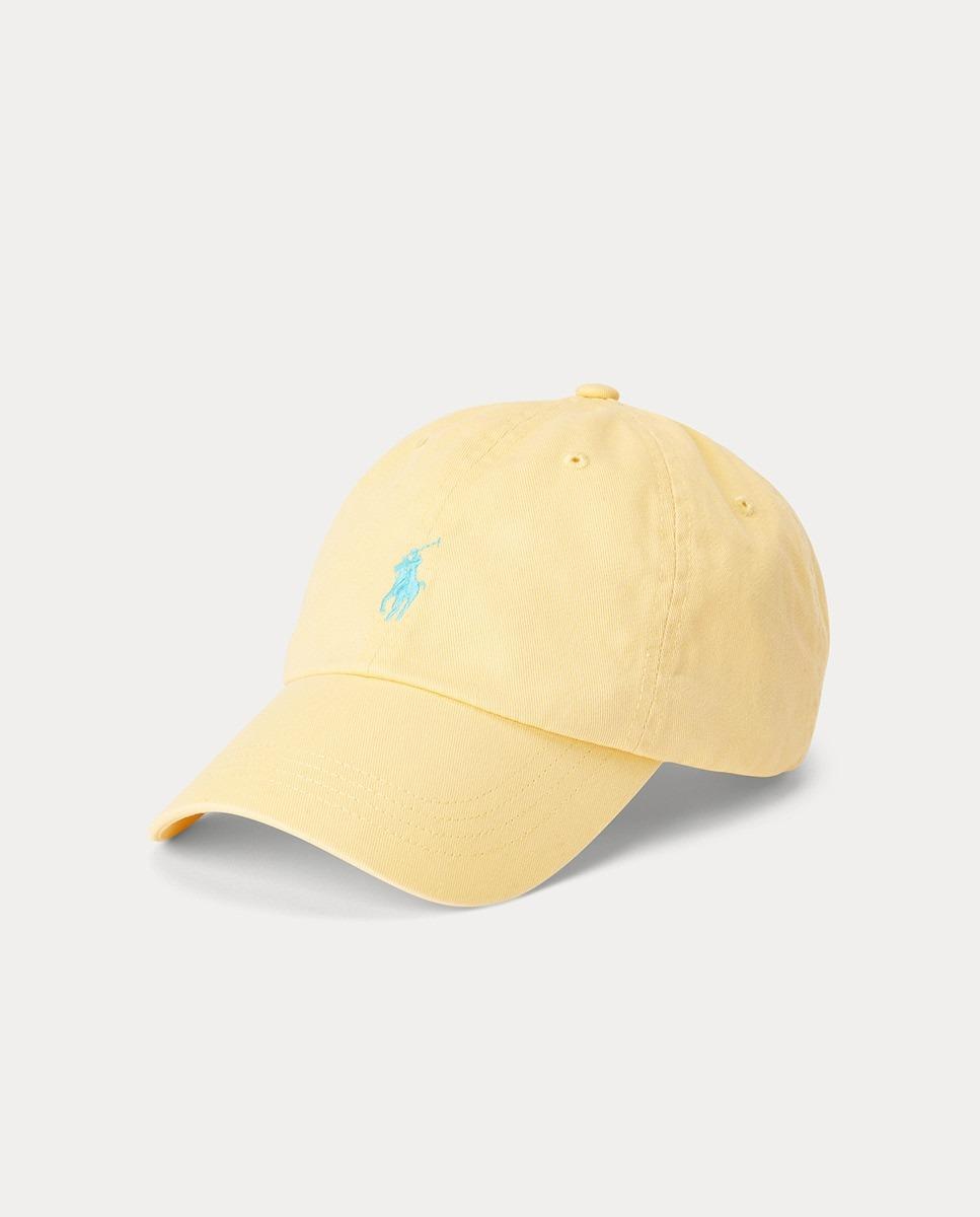 Gorra color amarillo de Polo Ralph Lauren