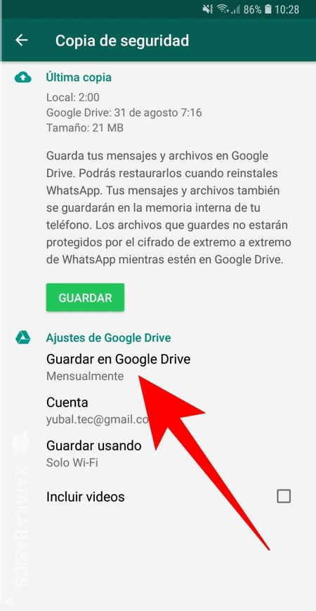 Guardar En Google Drive