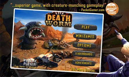 Death Worm llega a Windows Phone 8