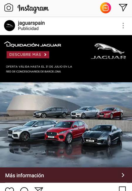 Jaguar publi liquidación