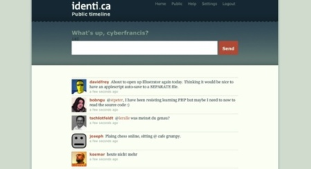 Identi.ca, el futuro del microblogging distribuido